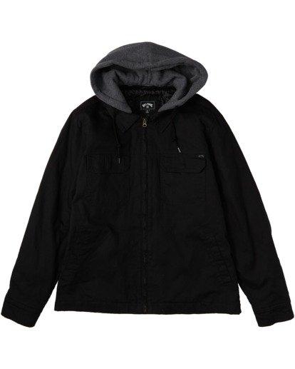 5 Barlow Twill Jacket Black M7063BBT Billabong