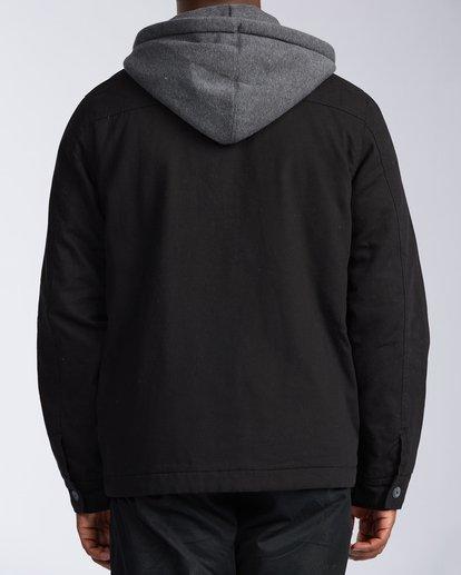 2 Barlow Twill Jacket Black M7063BBT Billabong