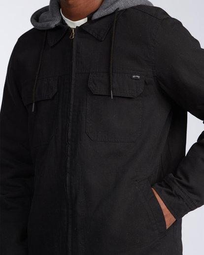 3 Barlow Twill Jacket Black M7063BBT Billabong