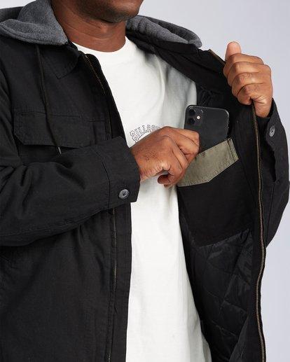 4 Barlow Twill Jacket Black M7063BBT Billabong