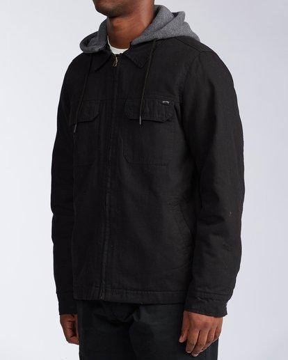 1 Barlow Twill Jacket Black M7063BBT Billabong
