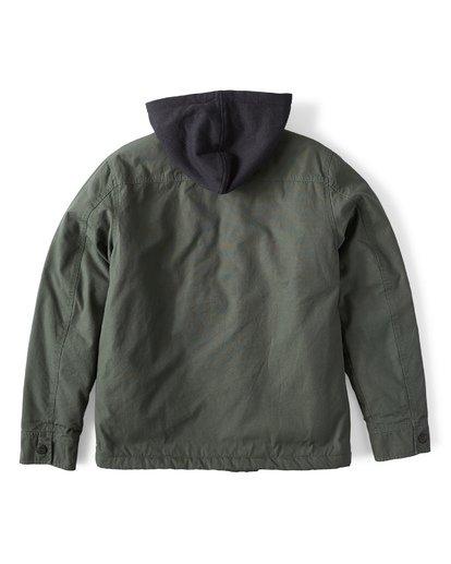 7 Barlow Twill Jacket Green M706VBBT Billabong