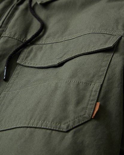 8 Barlow Twill Jacket Green M706VBBT Billabong