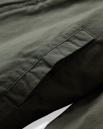 9 Barlow Twill Jacket Green M706VBBT Billabong