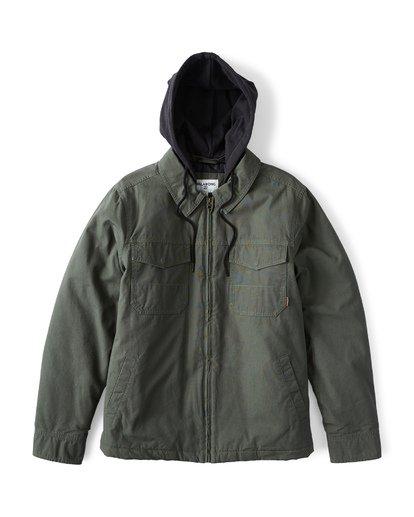 6 Barlow Twill Jacket Green M706VBBT Billabong