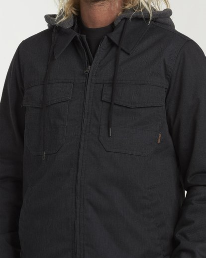 4 Barlow Twill Jacket Grey M706VBBT Billabong
