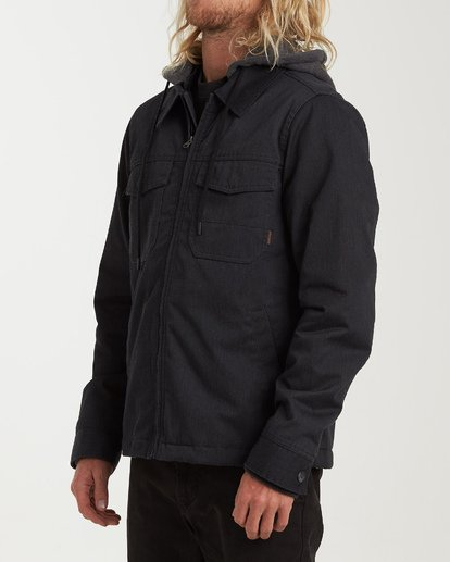 1 Barlow Twill Jacket Grey M706VBBT Billabong