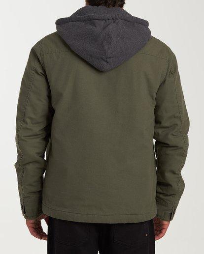 2 Barlow Twill Jacket Green M706VBBT Billabong