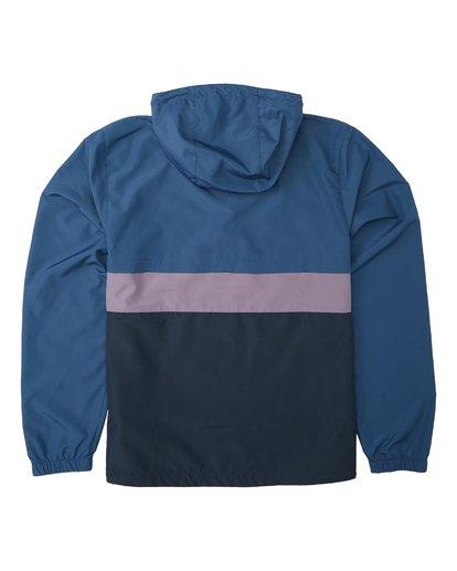 5 Wind Swell Anorak Jacket Blue M7103BWI Billabong