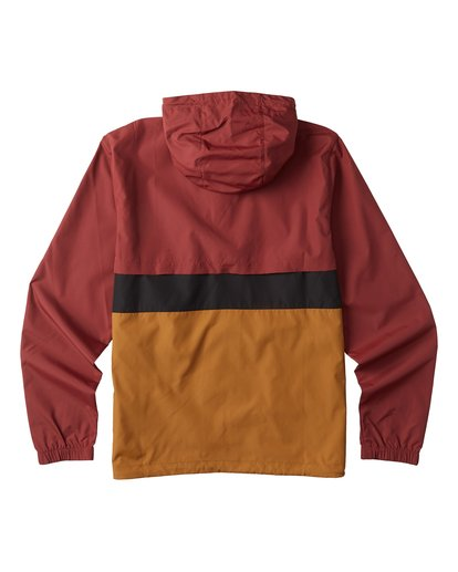 8 Wind Swell Anorak Jacket Red M7103BWI Billabong