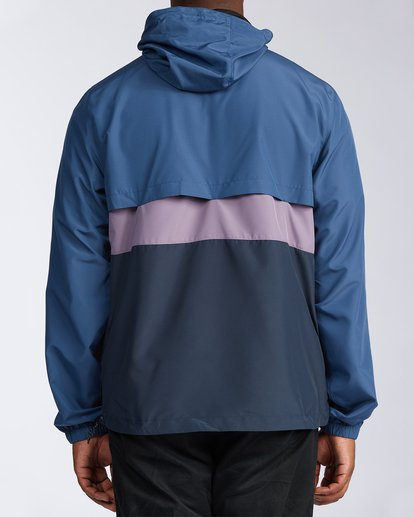 2 Wind Swell Anorak Jacket Blue M7103BWI Billabong