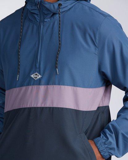 3 Wind Swell Anorak Jacket Blue M7103BWI Billabong