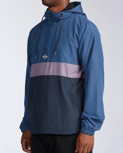1 Wind Swell Anorak Jacket Blue M7103BWI Billabong