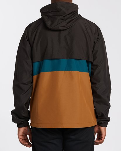 2 Wind Swell Anorak Jacket Multicolor M7103BWI Billabong