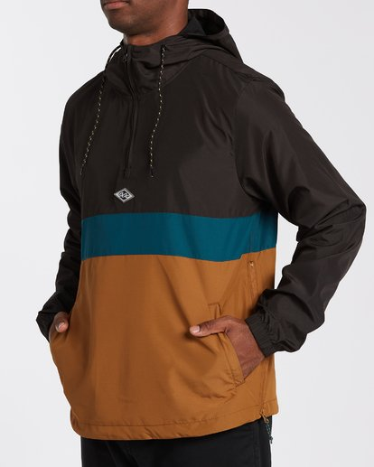 3 Wind Swell Anorak Jacket Multicolor M7103BWI Billabong