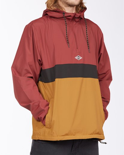 5 Wind Swell Anorak Jacket Red M7103BWI Billabong