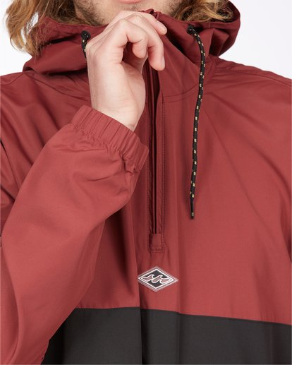 6 Wind Swell Anorak Jacket Red M7103BWI Billabong