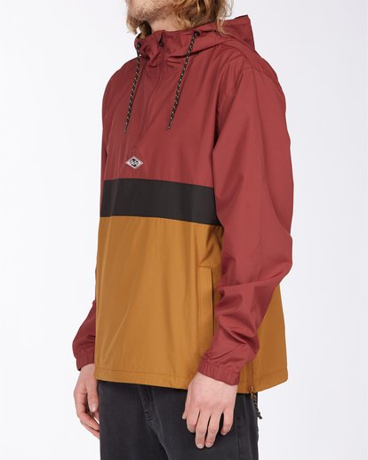1 Wind Swell Anorak Jacket Red M7103BWI Billabong