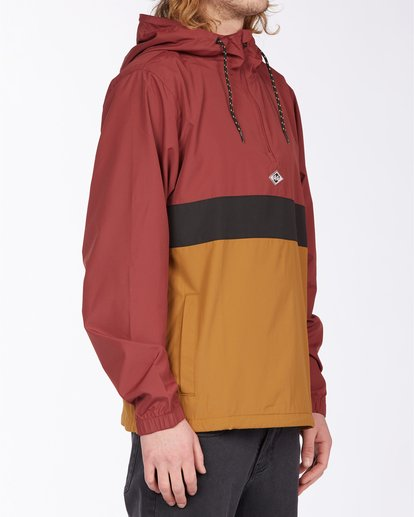 2 Wind Swell Anorak Jacket Red M7103BWI Billabong