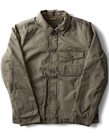 1 Barlow Military Jacket  M710QBBM Billabong