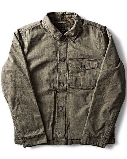 0 Barlow Military Jacket  M710QBBM Billabong