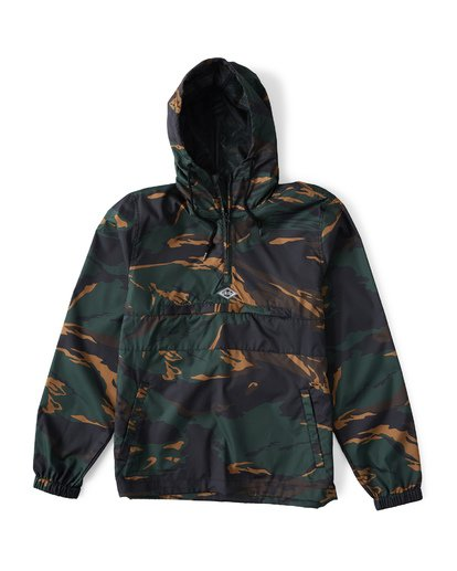 3 Wind Swell Anorak Black M710VBWI Billabong