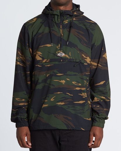 0 Wind Swell Anorak Black M710VBWI Billabong