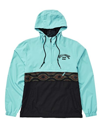 2 Legacy Anorak Jacket Black M710WBXT Billabong