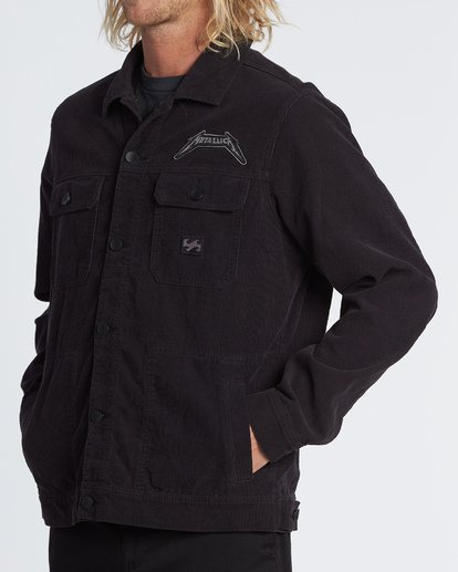 1 Black Album Jacket Multicolor M713WBBL Billabong