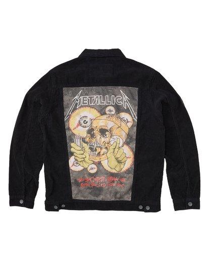 5 Metallica Shortest Straw Jacket Black M7141BSH Billabong