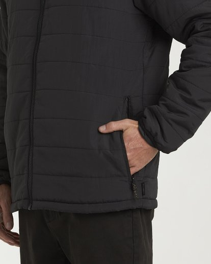 3 Journey Adiv Puff Jacket Black M714VBTR Billabong