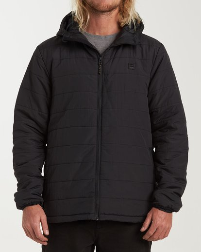 0 Journey Adiv Puff Jacket Black M714VBTR Billabong