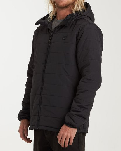 1 Journey Adiv Puff Jacket Black M714VBTR Billabong
