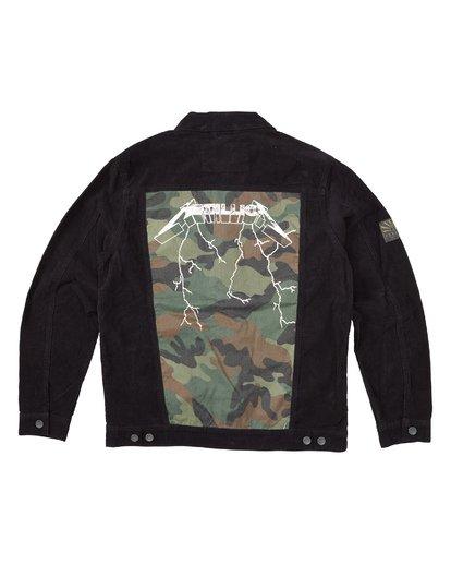 6 AI Metallica Jacket Black M7151BAI Billabong