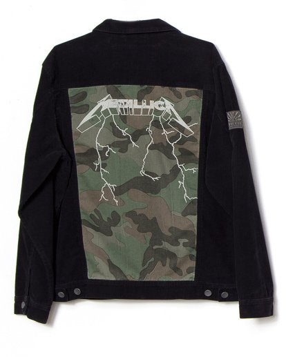 5 AI Metallica Jacket Black M7151BAI Billabong