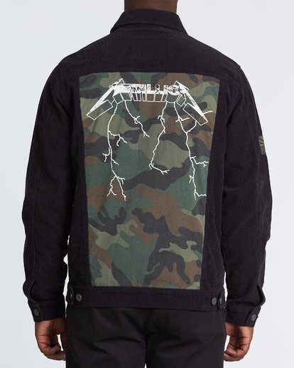 2 AI Metallica Jacket Black M7151BAI Billabong