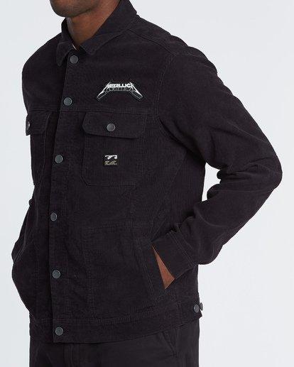 1 AI Metallica Jacket Black M7151BAI Billabong