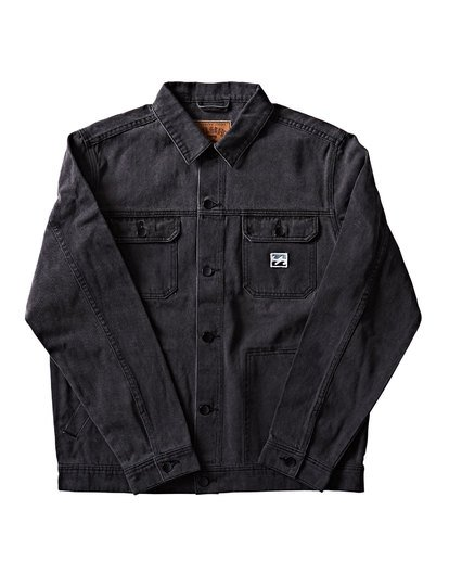1 Revert Jacket Black M716QBRE Billabong