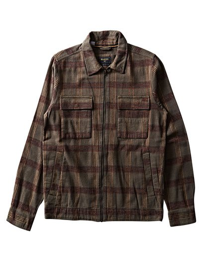 0 Barlow Lite Plaid Workwear Jacket  M726SBBA Billabong