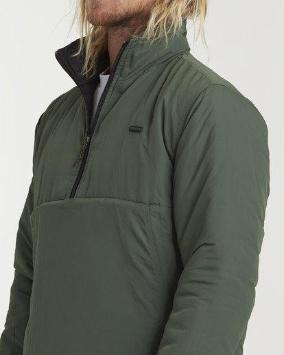 5 Boundary Reversible Puffer Anorak Jacket Black M727VBBO Billabong