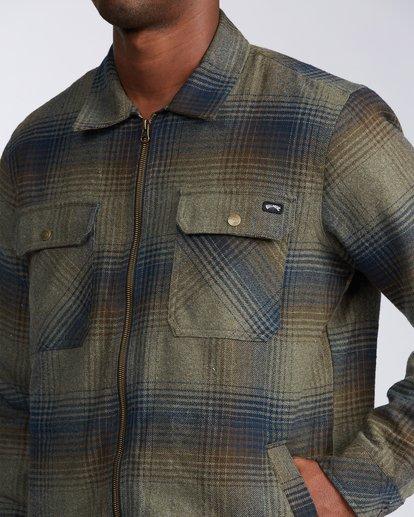3 Barlow Zip Jacket Green M7353BBZ Billabong