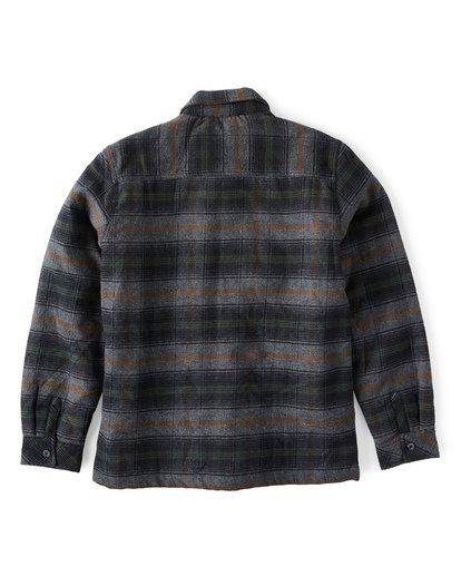 9 Barlow Zip Jacket Grey M735VBBZ Billabong
