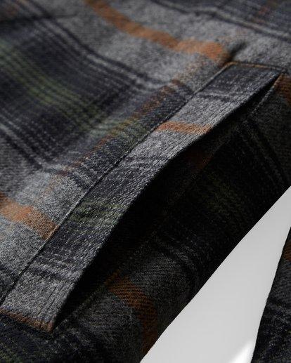 10 Barlow Zip Jacket Grey M735VBBZ Billabong