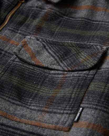 11 Barlow Zip Jacket Grey M735VBBZ Billabong