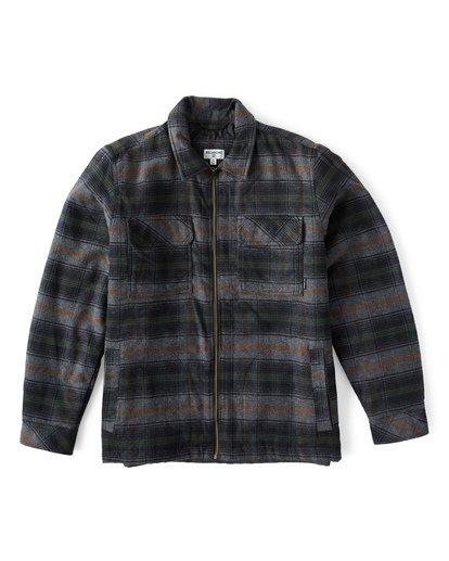 7 Barlow Zip Jacket Grey M735VBBZ Billabong