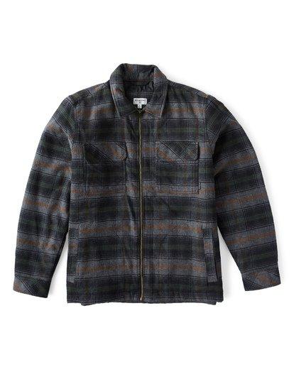 8 Barlow Zip Jacket Grey M735VBBZ Billabong