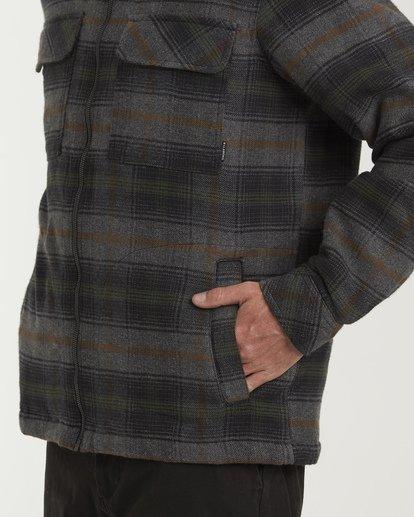 3 Barlow Zip Jacket Grey M735VBBZ Billabong