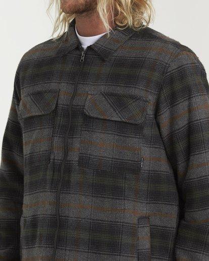 4 Barlow Zip Jacket Grey M735VBBZ Billabong
