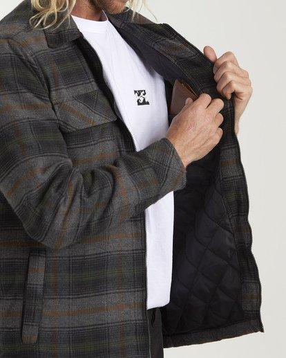 5 Barlow Zip Jacket Grey M735VBBZ Billabong