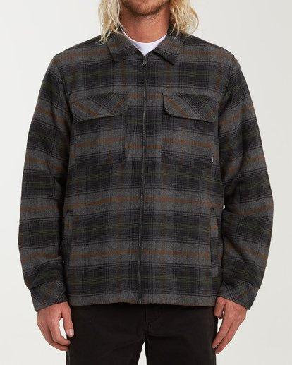 6 Barlow Zip Jacket Grey M735VBBZ Billabong